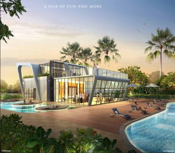 skypark residences clubhouse