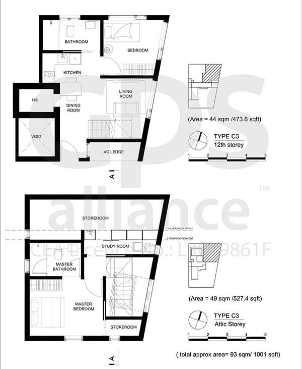 M5 Jalan Mutiara Floor Plan