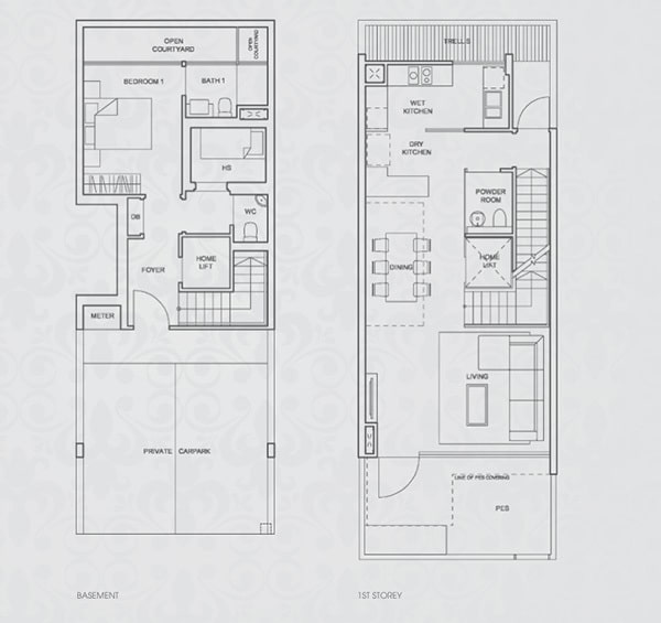 Terrace House Floor Plan1