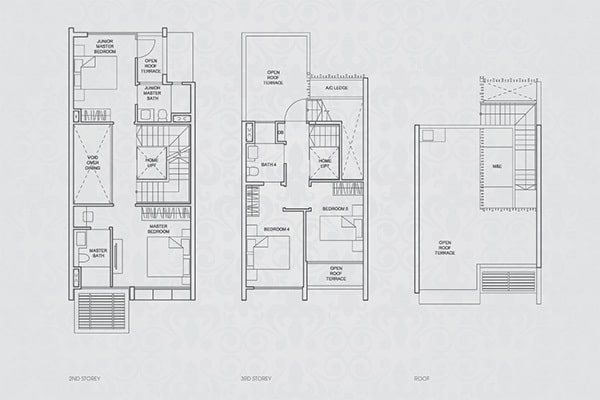 Terrace House Floor Plan2