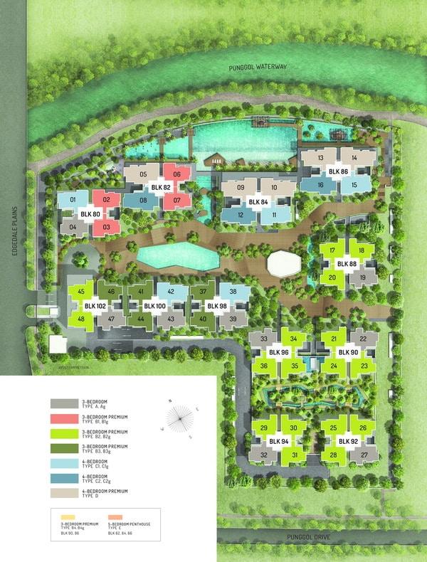 terrace ec siteplan