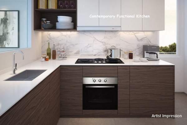 the terrace ec modern kitchen