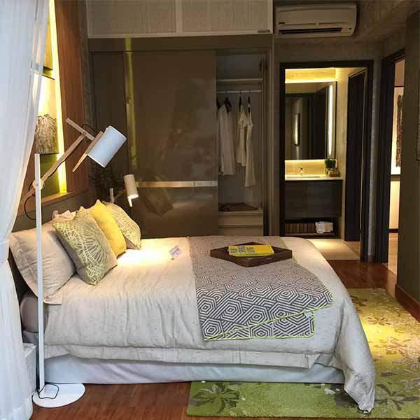 Sims Urban Oasis Bedroom