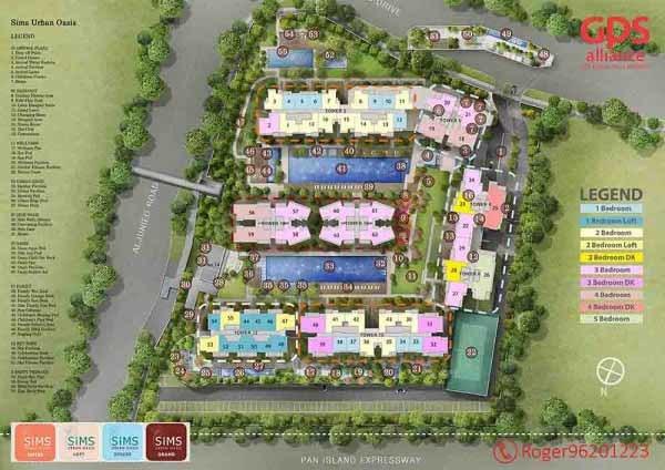 Sims Urban Oasis Site Plan