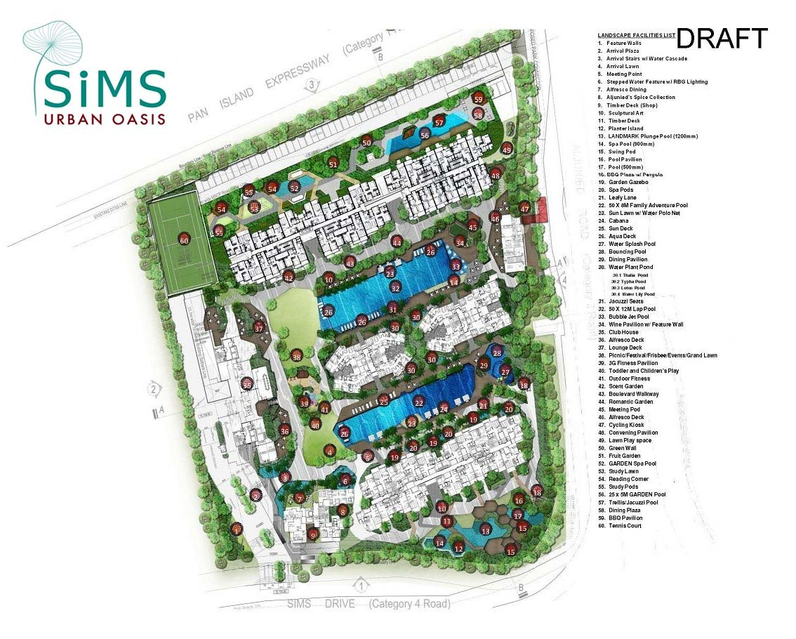 Sims Urban Oasis Condo The New Launch Property