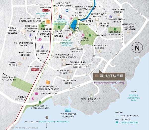 Signature EC location map