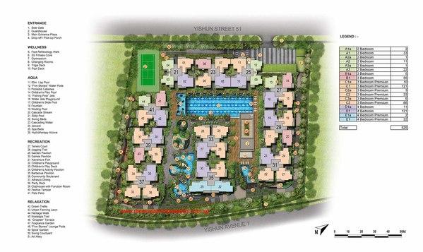 signature at yishun site plan